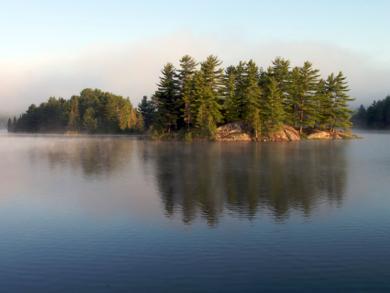 Canoe Lake To Big Trout Loop